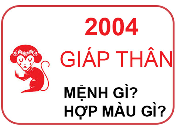 Những người sinh năm 2004 mệnh gì? Hợp đeo đá màu gì?