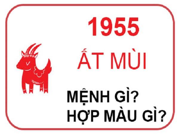 Người sinh năm 1955 mệnh nào? hợp hướng nào? hợp đeo đá màu gì?