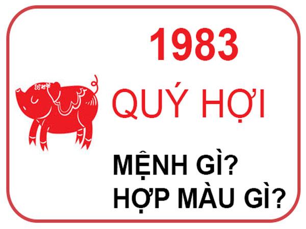 Những người sinh năm 1983 mệnh gì? hợp đeo đá màu gì?