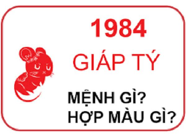 SINH NĂM 1984 MỆNH GÌ? HỢP ĐEO ĐÁ MÀU GÌ?