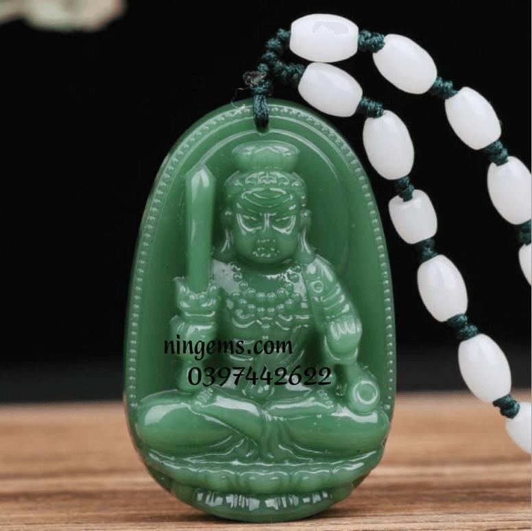 Phật bản mệnh Bất Động Minh Vương ngọc bích