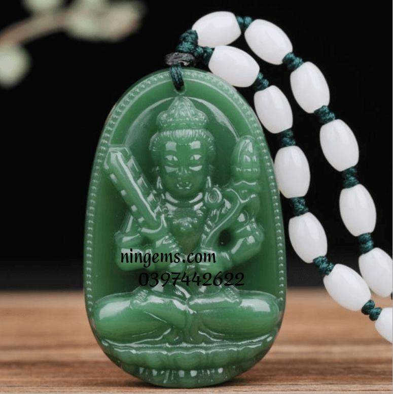 Phật bản mệnh Hư Không Tạng Tồ Tát ngọc bích