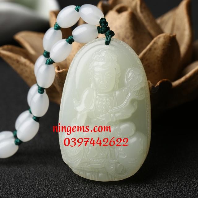 Phật bản mệnh Phổ Hiền Bồ Tát Bạch Ngọc