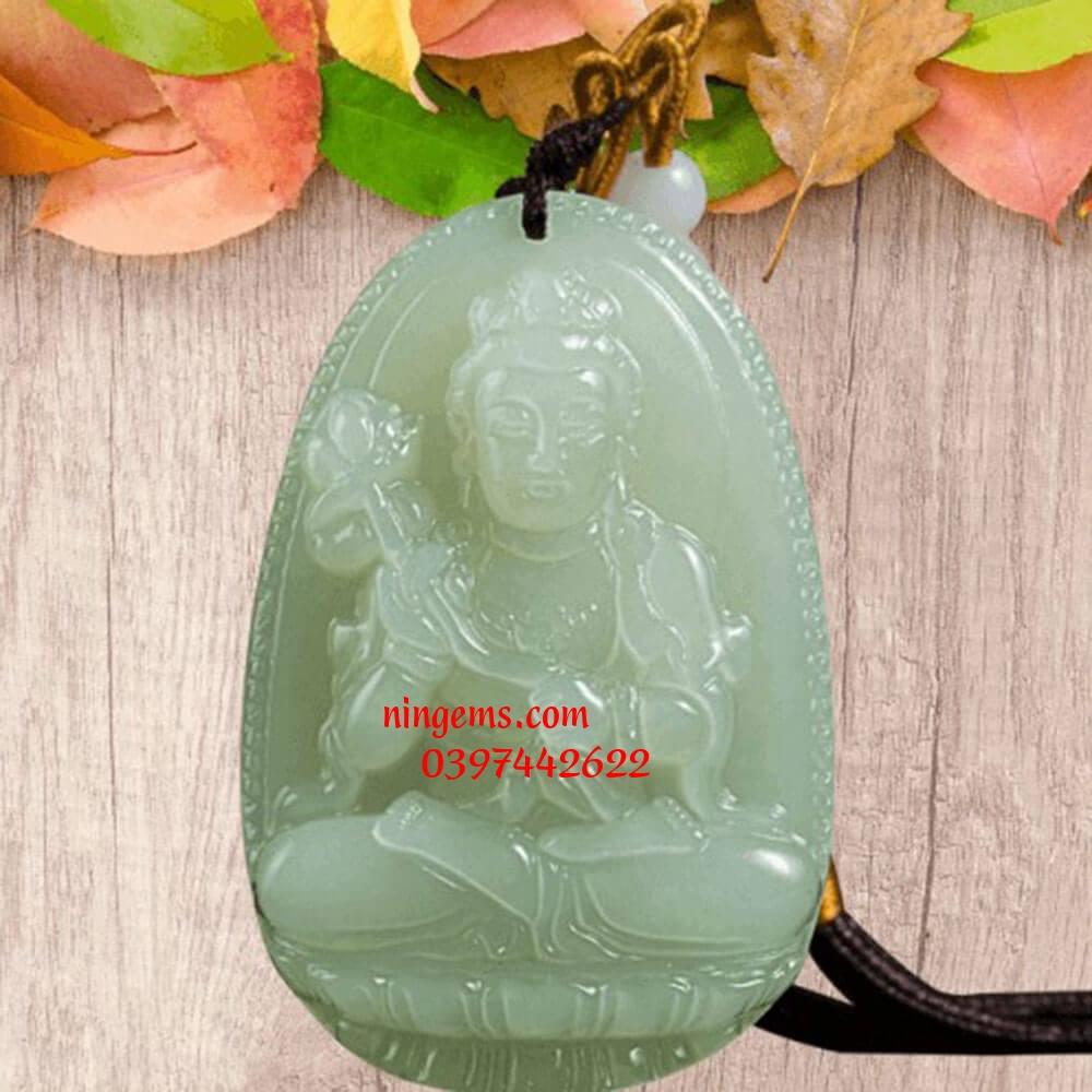 Phật bản mệnh Đại Thế Chí Bồ Tát ngọc Jadeit