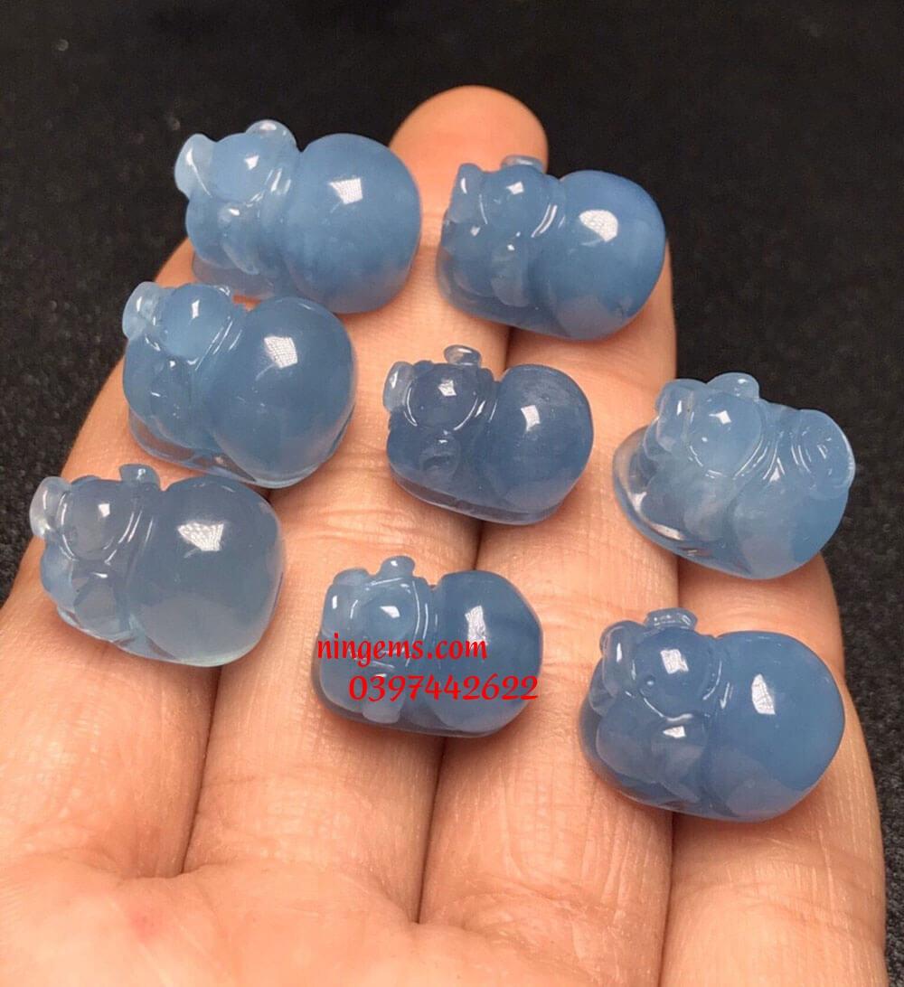 Heo đá Aquamarine