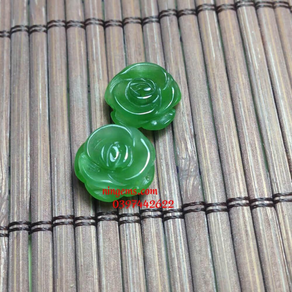 Hoa mẫu đơn ngọc bích