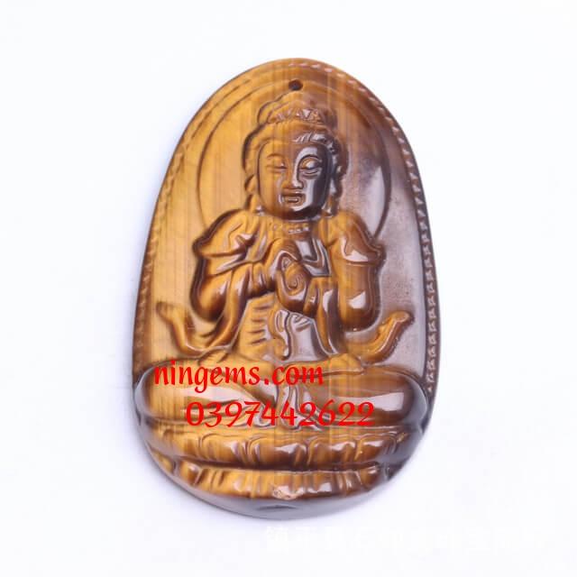 Phật bản mệnh Như Lai Đại Nhật đá mắt hổ vàng