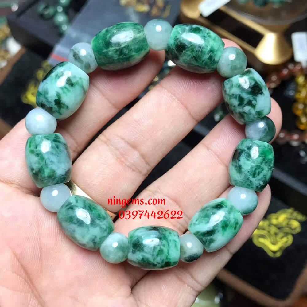 Vòng tay lu thống ngọc jadeit